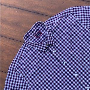 UnTuckit Men's Plaids & Checks Shirt Size XXL
